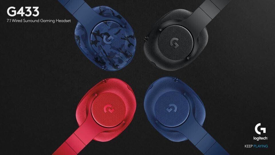 Logitech G433 headphones