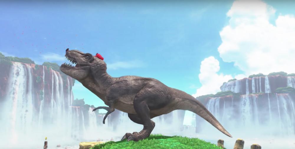 Super Mario Odyssey E3 2017 T-Rex