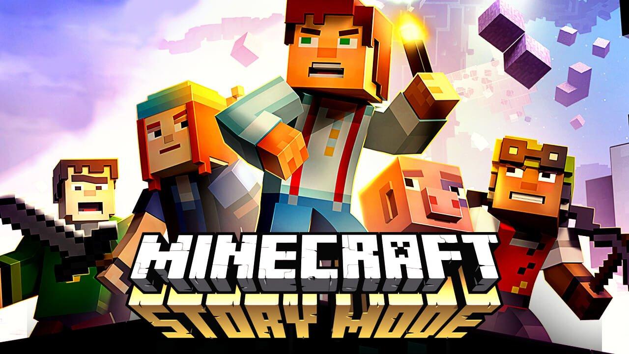 Minecraft: Story Mode на Android(Первый взгляд на игру ...