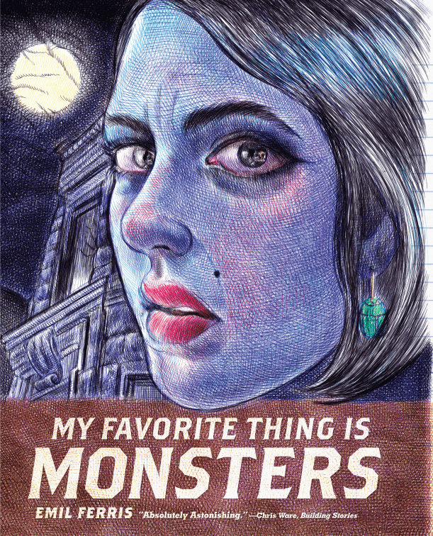 Best Comics 2017 - Monsters Cover
