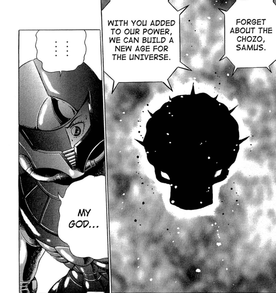 Metroid Manga Mother Brain Meeting ultimate warrior
