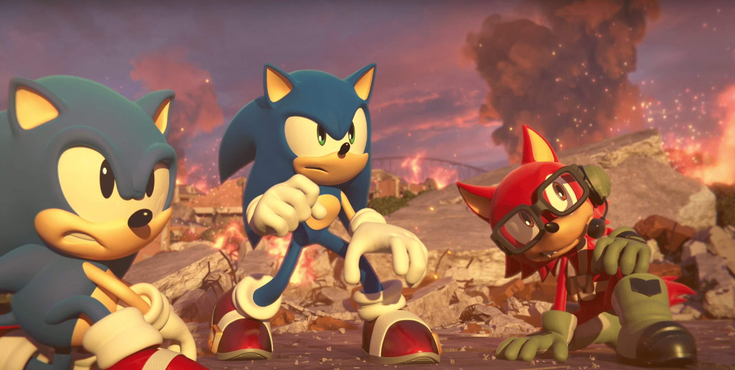 Sonic Forces Nintendo Direct