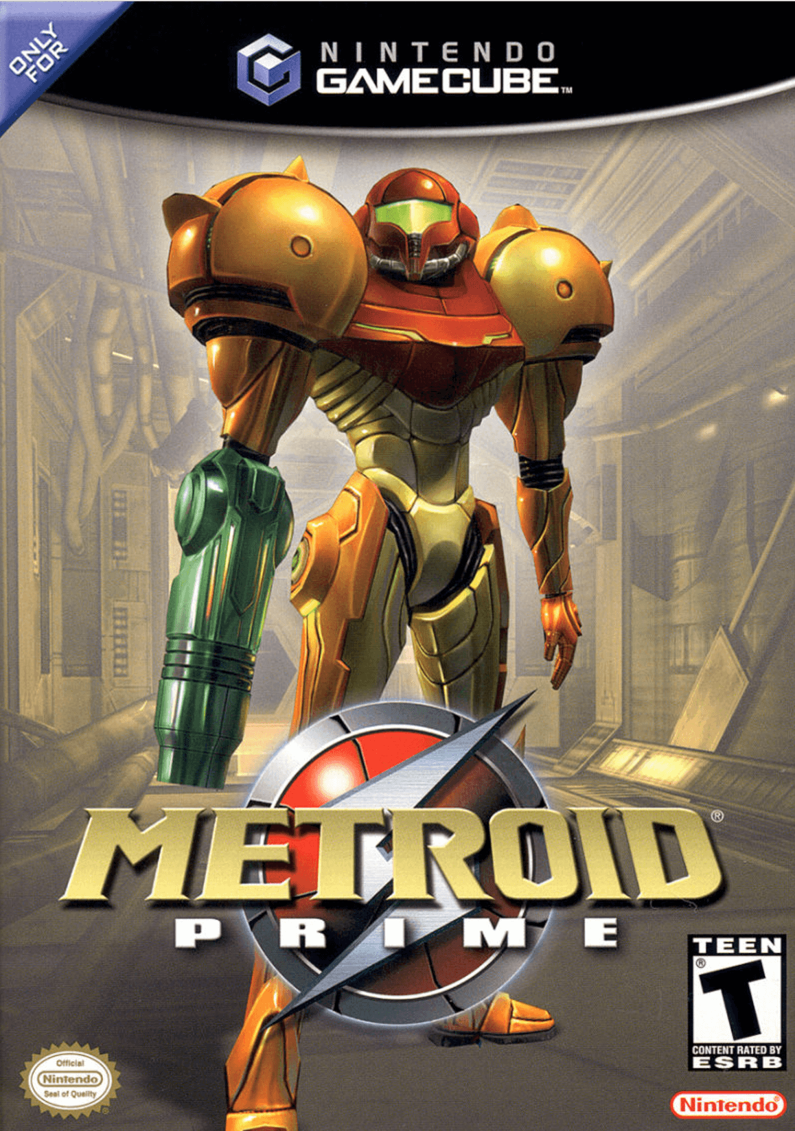 Metroid Prime Box Art Metroid Story