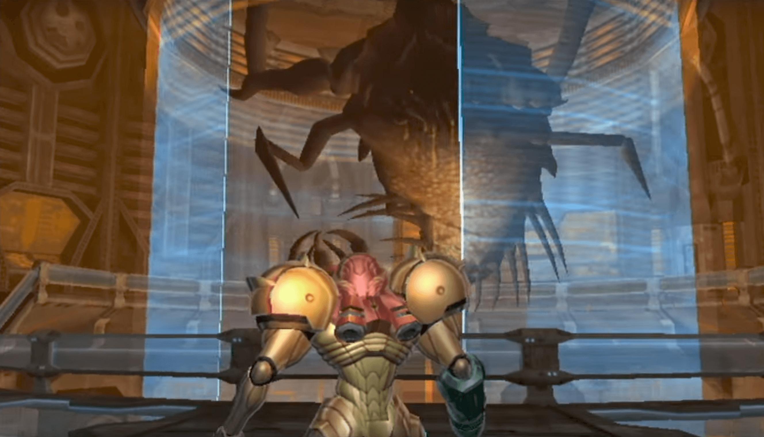 Metroid Prime Parasite Queen Metroid Story