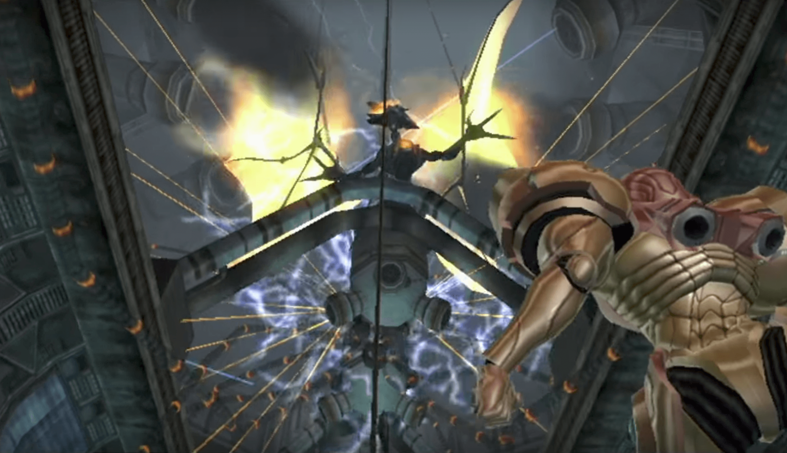 Metroid Prime Ridley Appears Metroid Story