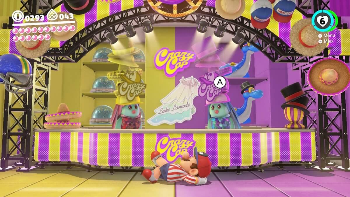 Super Mario Odyssey Review Crazy Cap