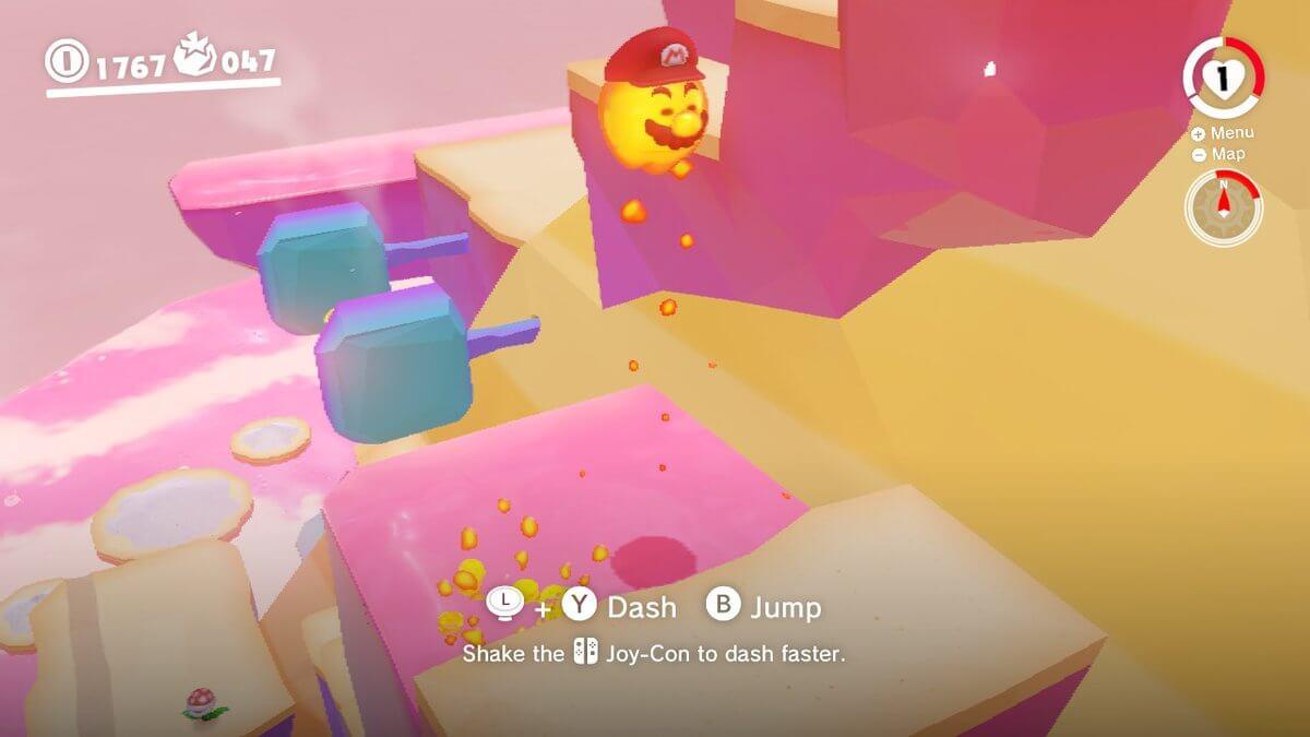 Super Mario Odyssey Review Lava Bubble