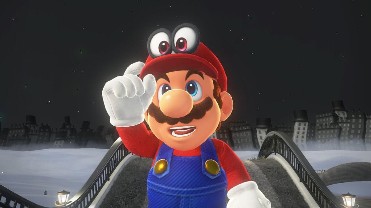 Super Mario Odyssey Review Mario and Cappy 2