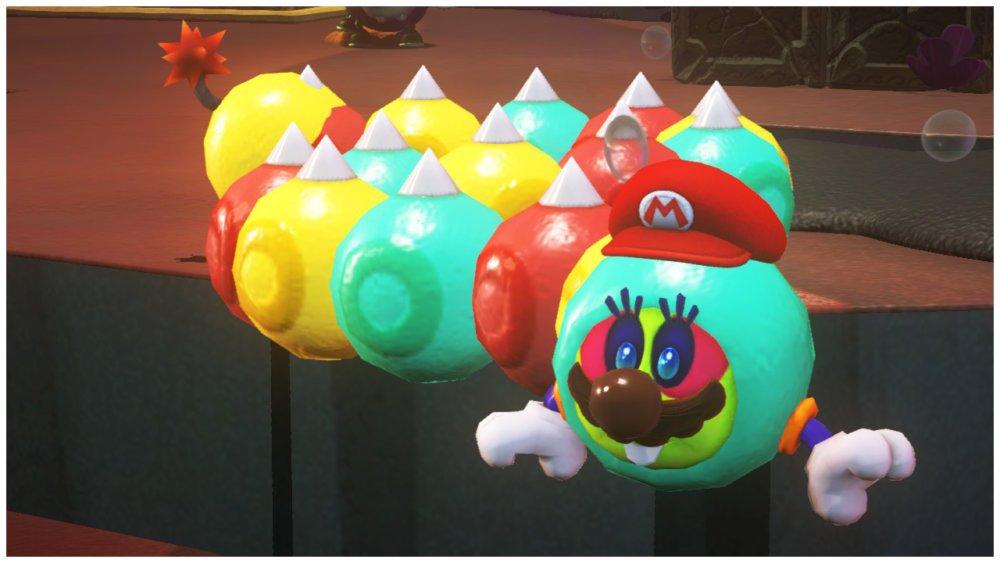 Wiggler Capture Mario Odyssey