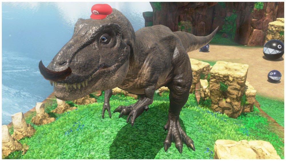 T-Rex Capture Mario Odyssey
