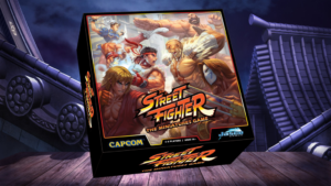 Street Fighter Miniatures Game Box