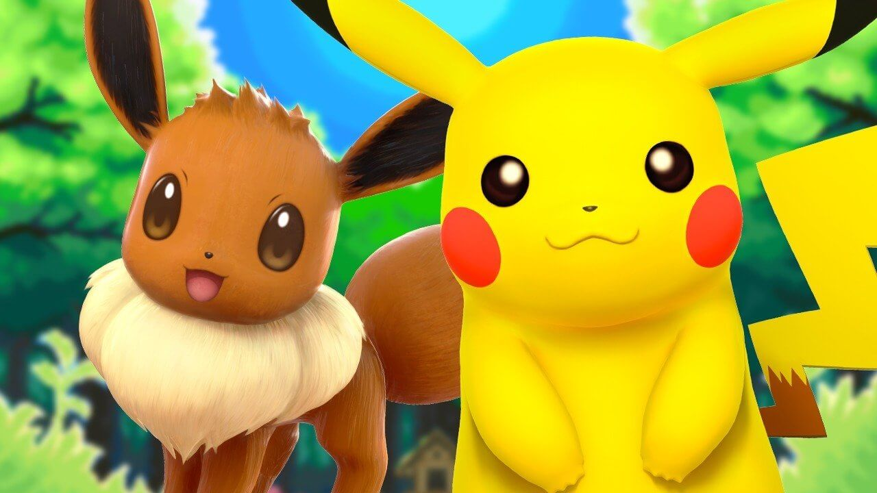 Pokémon - Pikachu and Eevee 01